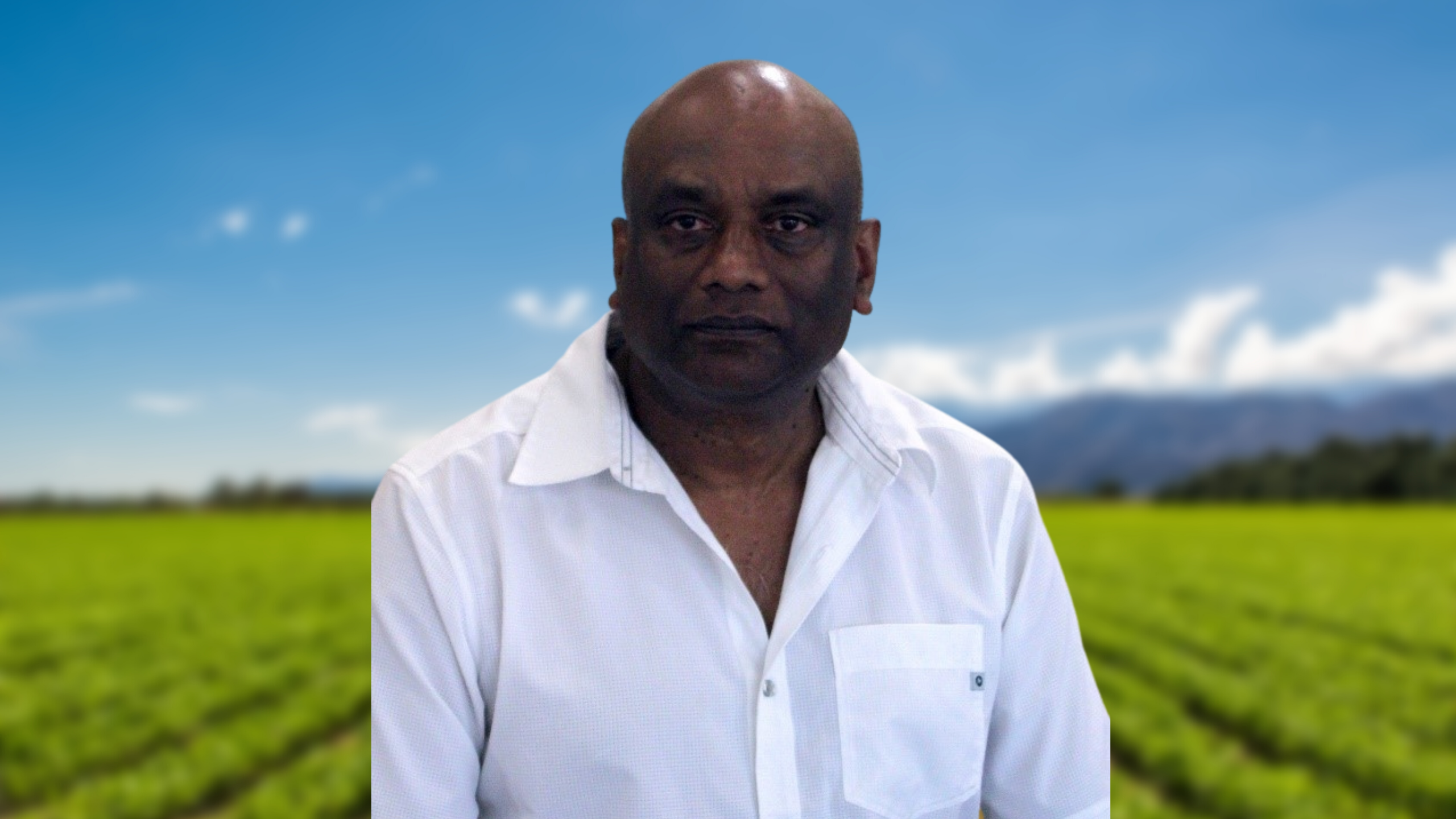 The Soil Scientist Gordon Rajendram (PhD) is serious about soil.