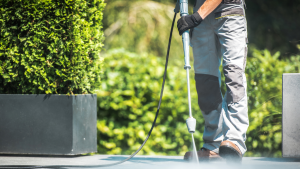 Read more about the article Give the exterior of your business a freshen up with Rotorua's leading commercial and house washing service, Exterior Washing Services.